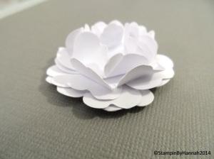 3. 3D flower