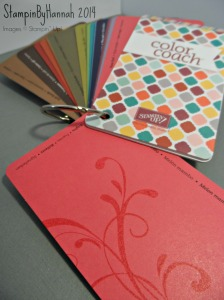 Stampin Up Custom Color Coach