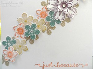 Stampin Up! Petite Petals in colours 2014