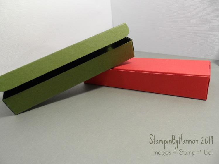 Stampin Up! UK Tealight Box
