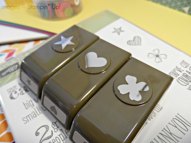 Stampin Up! Itty Bitty Accents punch pack