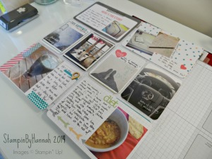 Stampin Up Project Life June 2014