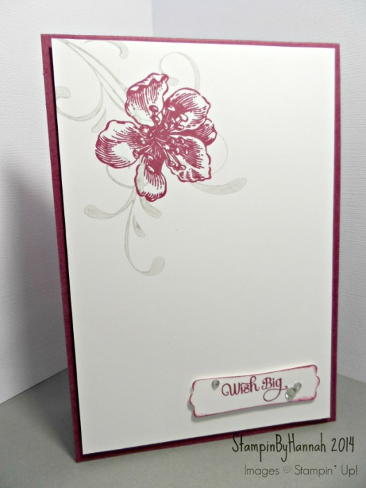 Stampin' Up! UK Card Wish Big