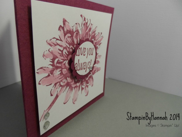 Watercolour with Stampin Write markers