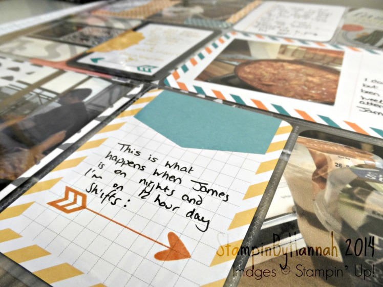 Project Life by Stampin Up July 2014