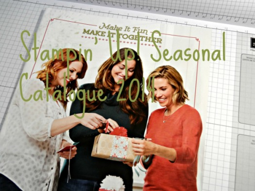 Stampin Up UK Seasonal 2014
