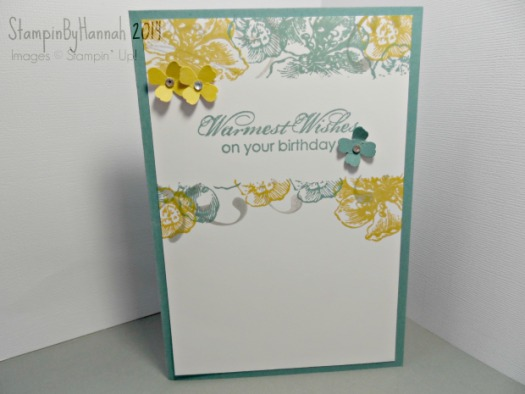 Stampin Up Everything Eleanor Blooming with kindness