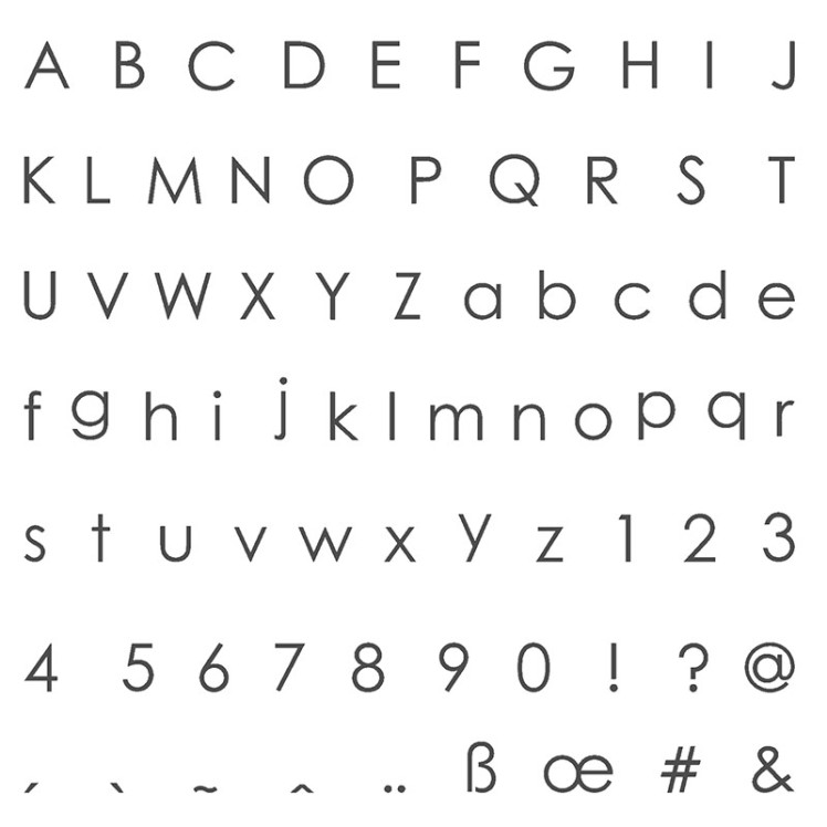 Stampin Up Back to Basics Alphabet