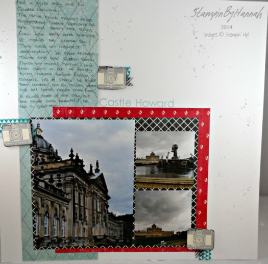 Stampin' Up! UK Scrapbook 12x12 Memory Keeping