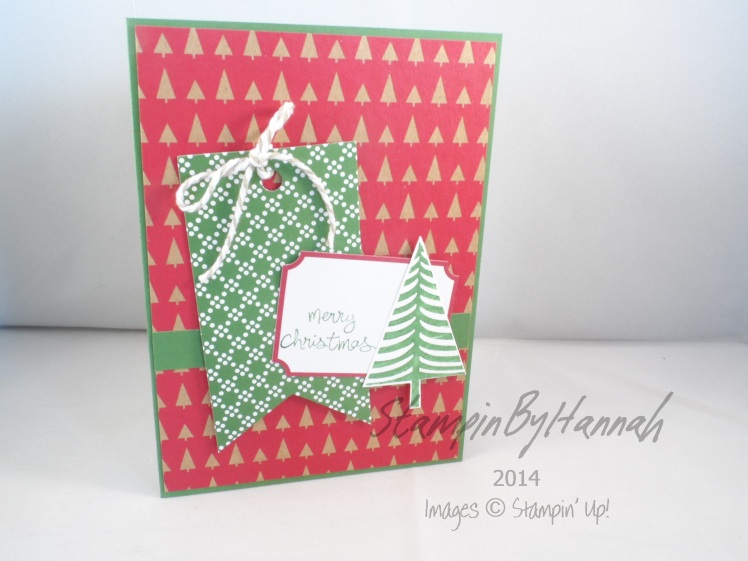 Stampin' Up! UK Festival of Trees Under the Tree