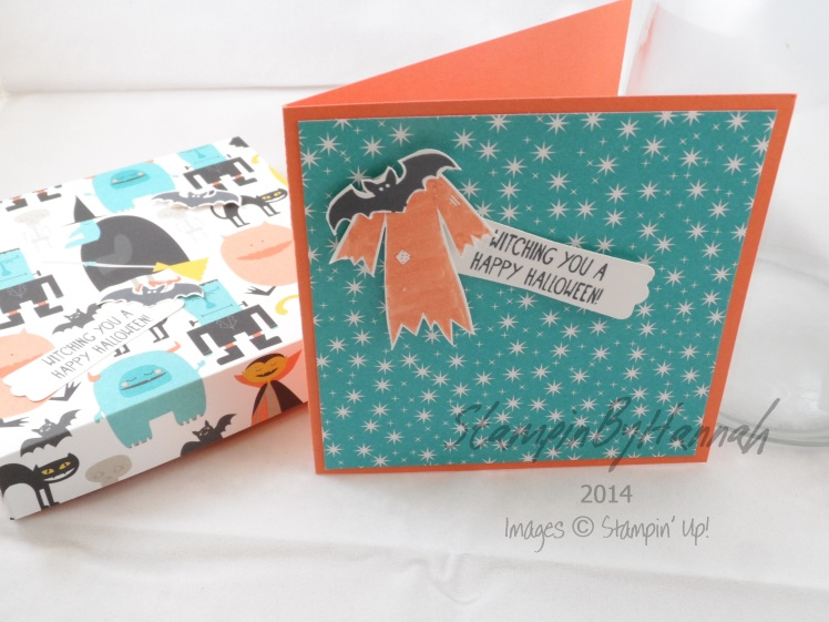 Stampin Up UK Motley Monsters Halloween
