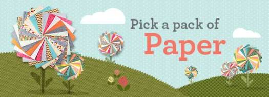 Stampin' Up! UK Pick a pack of Paper DSP Designer Series Paper