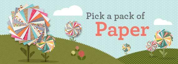 Stampin' Up! UK Pick a pack of Paper DSP Designer Series Paper