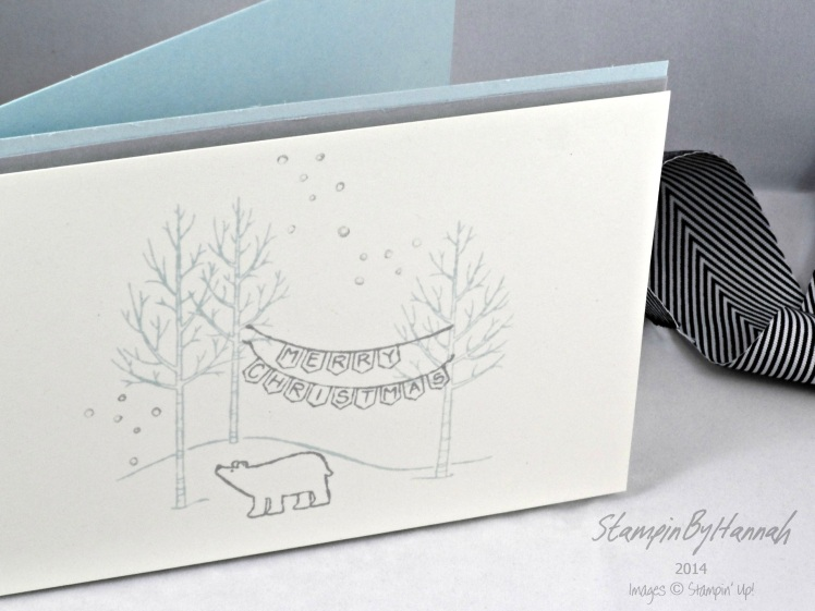 Stampin' Up! UK White Christmas Pool Party