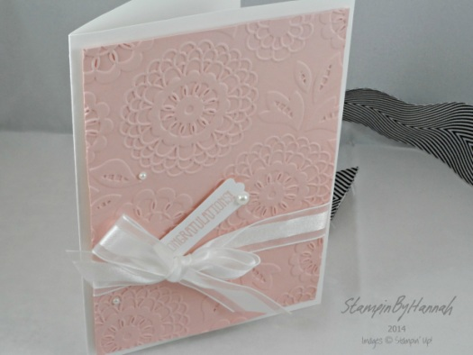 Stampin' Up! UK Lovely Lace Big Shot