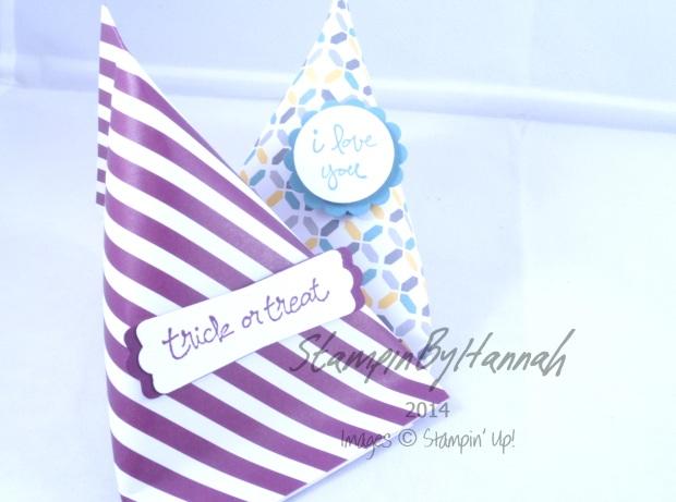 Stampin' Up! UK Halloween Treat sweet bags