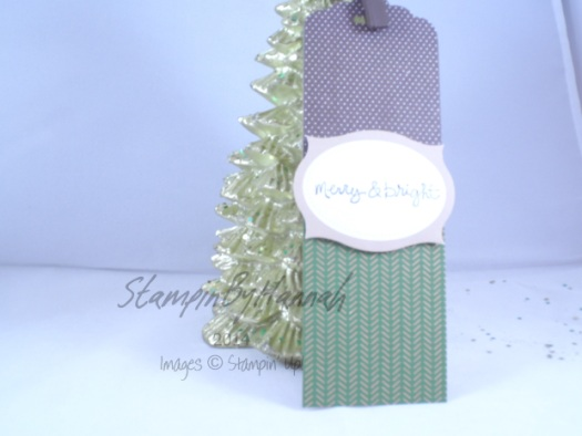 Stampin' Up! UK Scallop Tag Topper Punch