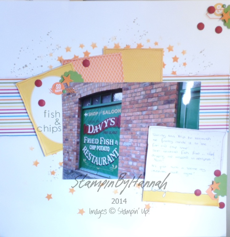 Stampin' Up! UK Project Life