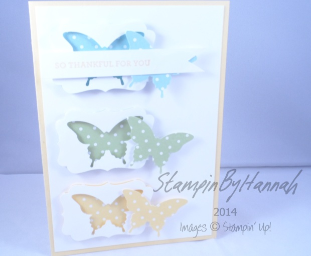 Stampin' Up! UK Papillon Potpourri Label punch