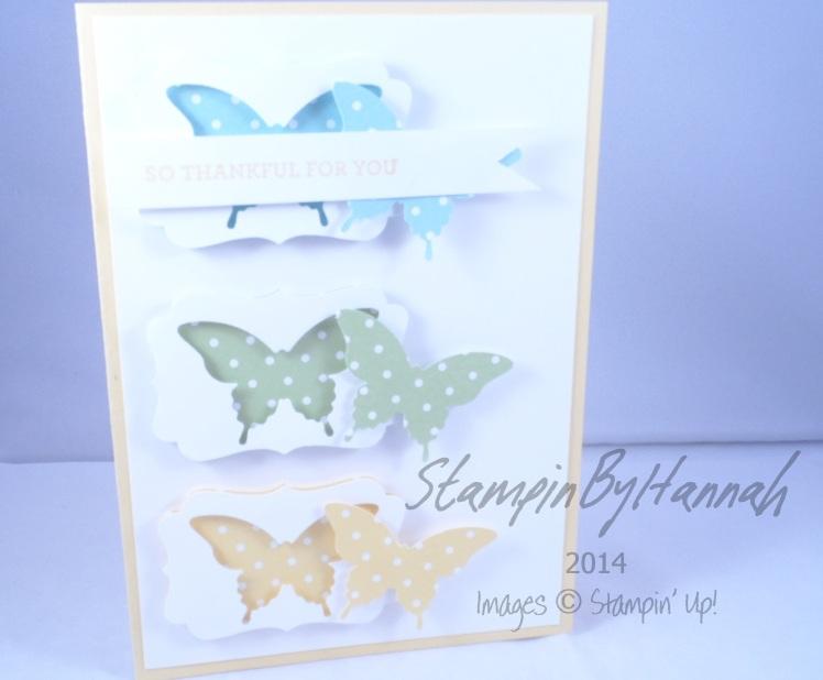 Stampin' Up! UK Papillon Potpourri Label punch