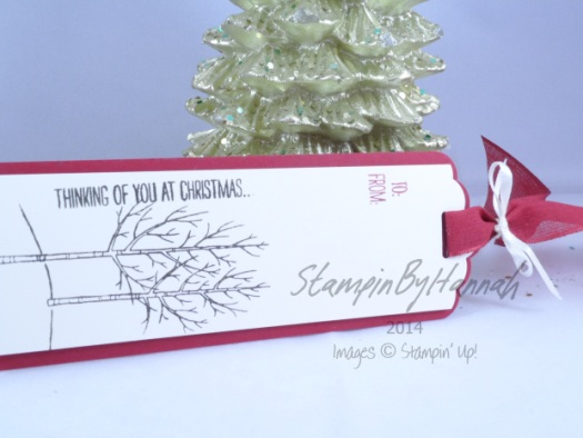 Stampin' Up! UK 12 tags of christmas