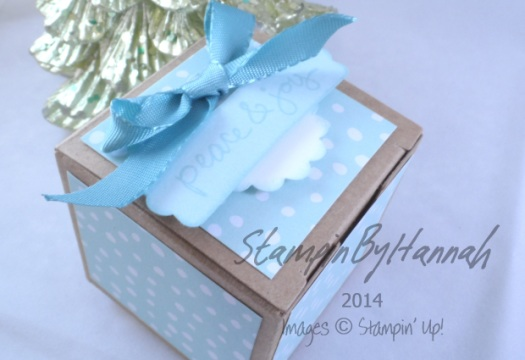 Stampin' Up! UK Tiny Treat Box