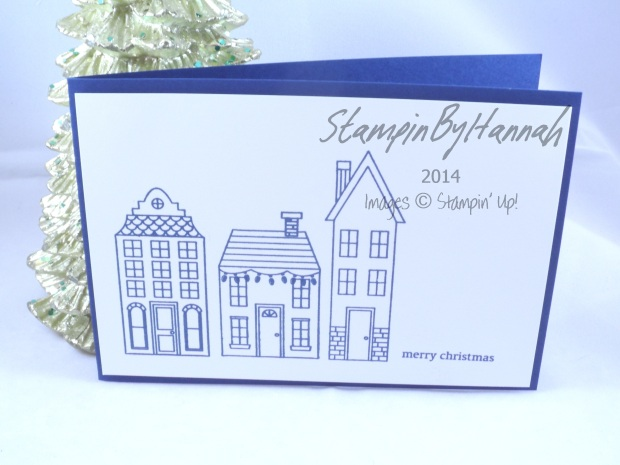 Stampin' Up! UK Holiday Home Night of Navy