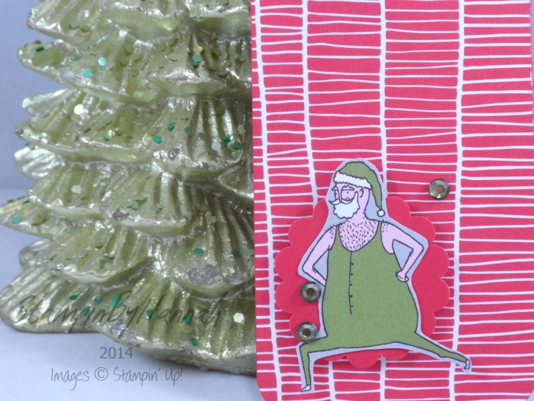 Stampin' Up! UK Crazy santa