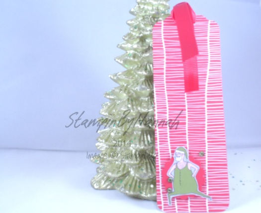 Stampin' Up! UK Santa and Co 12 tags of christmas