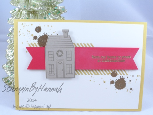 Stampin' Up! UK AW29 Holiday Home Christmas