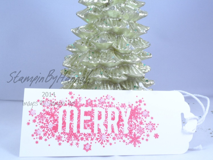 Stampin' Up! UK 12 tags of Christmas Seasonally Scattered