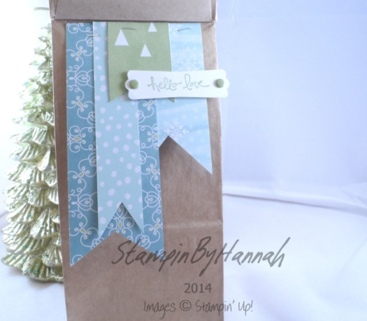 Stampin' Up! UK Petite Cafe Bag
