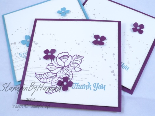 Stampin' Up! UK Sale-a-bration 2015
