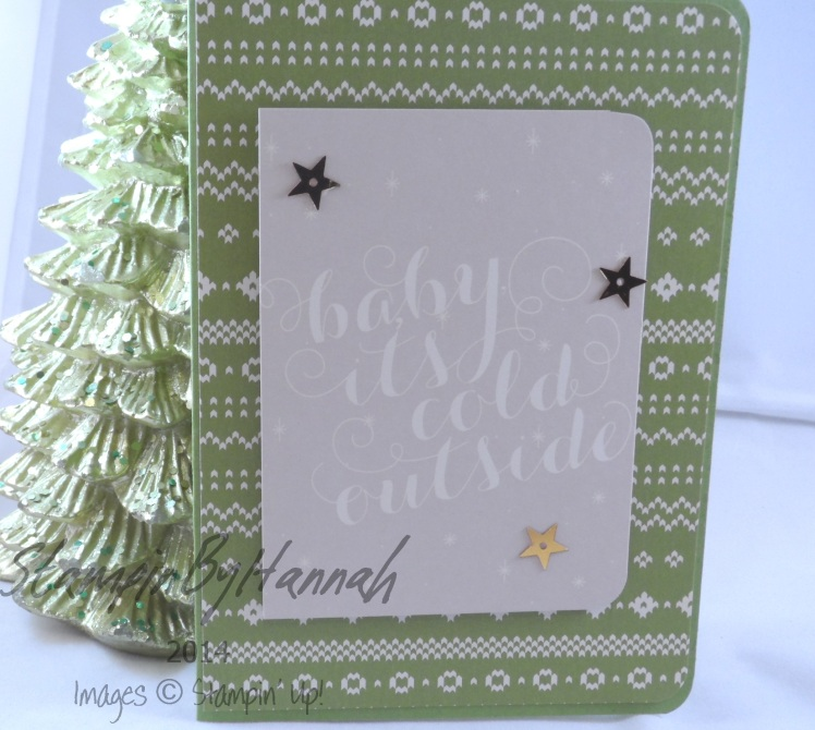 Stampin' Up! UK Project Life Seasonal Snaphot