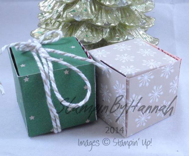 Stampin' Up! UK Tiny Tealight Box