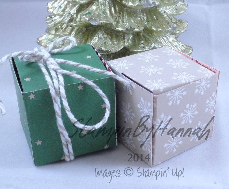 Stampin' Up! UK Tiny Tealight Box