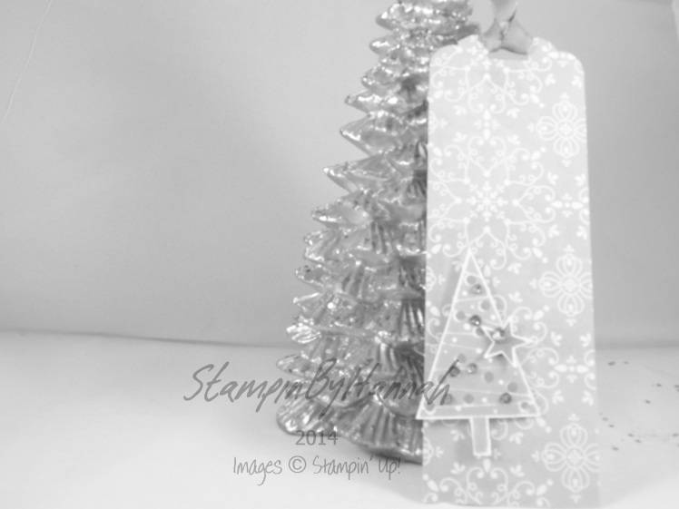 Stampin' Up! Uk All is Calm Festival of Trees