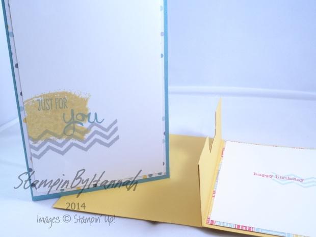 Stampin' Up! UK Pop up gift card card