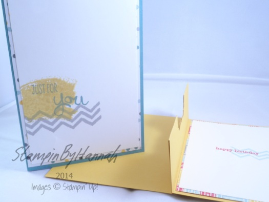 Stampin' Up! UK Pop up gift card card
