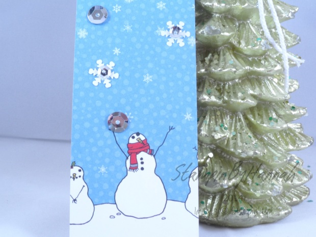 Stampin' Up! UK Snowman Tag Santa and Co