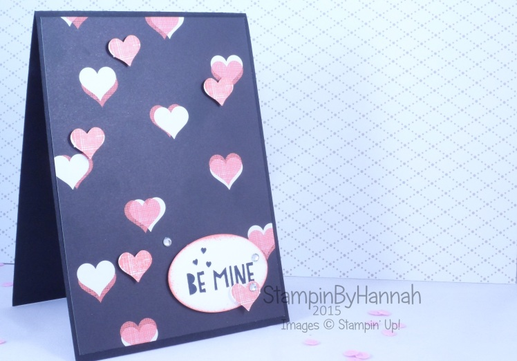 Stampin' Up! UK You Plus Me valentines Be mine