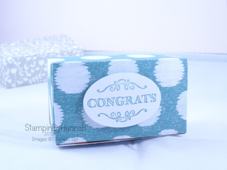 Stampin' Up! UK Chocolate box Simply Wonderful Sale-a-bration