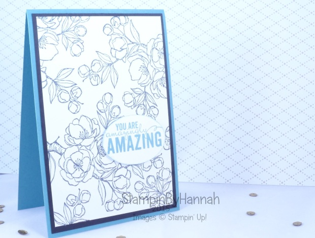 Stampin' Up! UK Indescribable gift