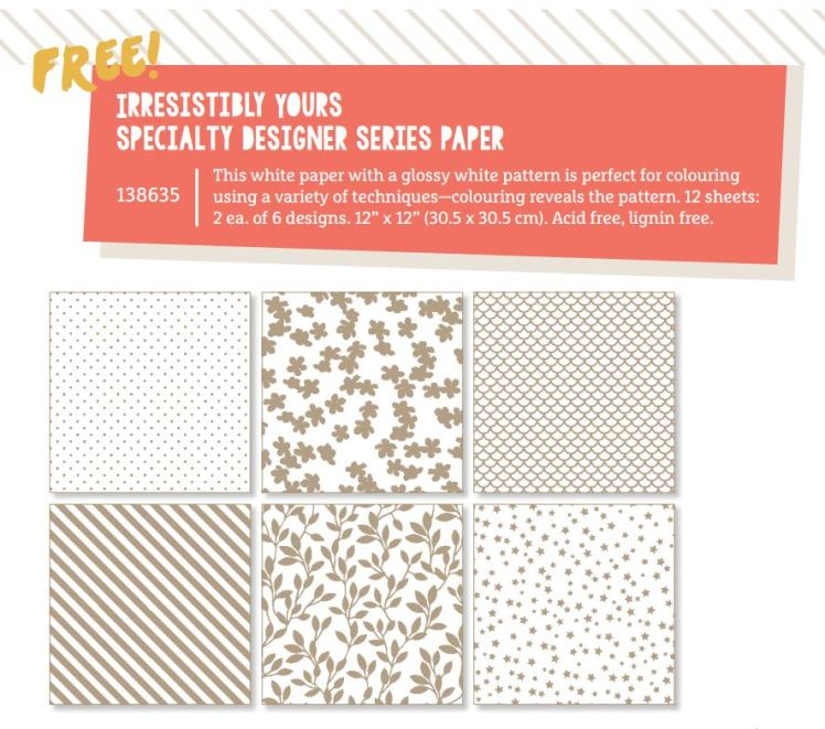 Stampin' Up! UK Irresistibly Yours Sale-a-bration