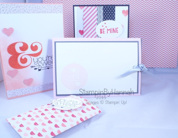 Stampin' Up! UK February Technique Class Slider Card Valentines