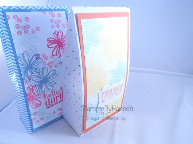 Stampin' Up! UK large gift bag StampinByHannah