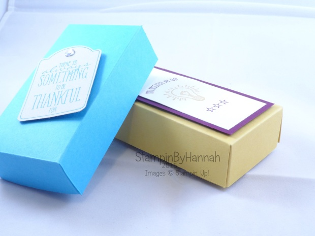 Stampin' Up! UK How to make your own soap box