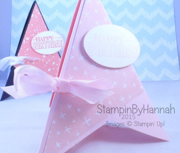 Stampin' Up! UK TeePee card