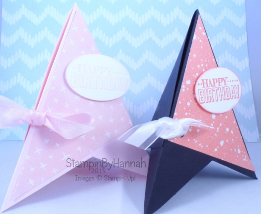 Stampin' Up! TeePee card Sale-a-bration
