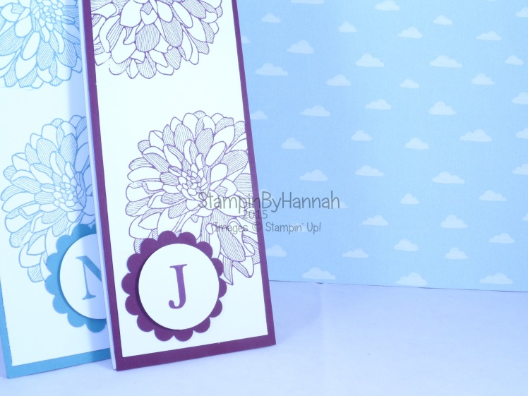 Stampin' Up! UK how to cover a jotter customer gifts
